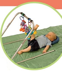 Compact Activity Center For Special Needs With Positioning