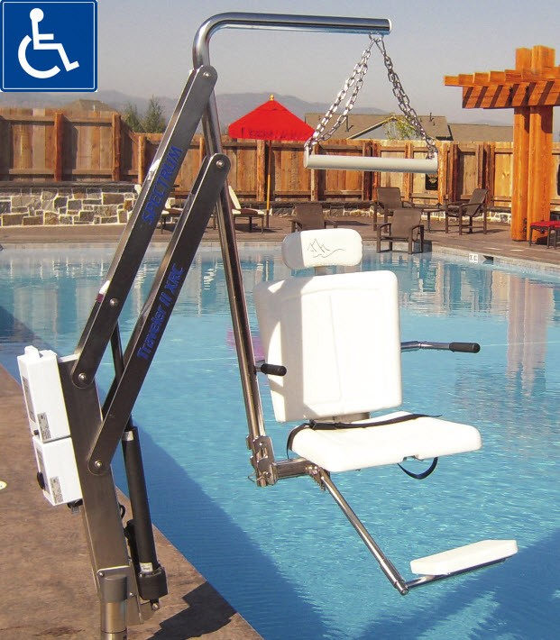 Hoyer Swimming Pool Lift Free Shipping